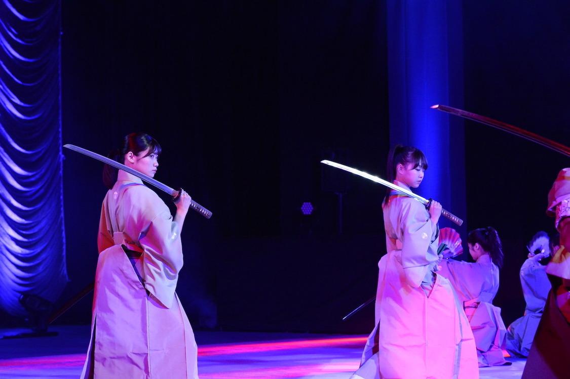 NMB48、日本武道館で剣詩舞を披露! <吟と舞祭り>ゲスト出演