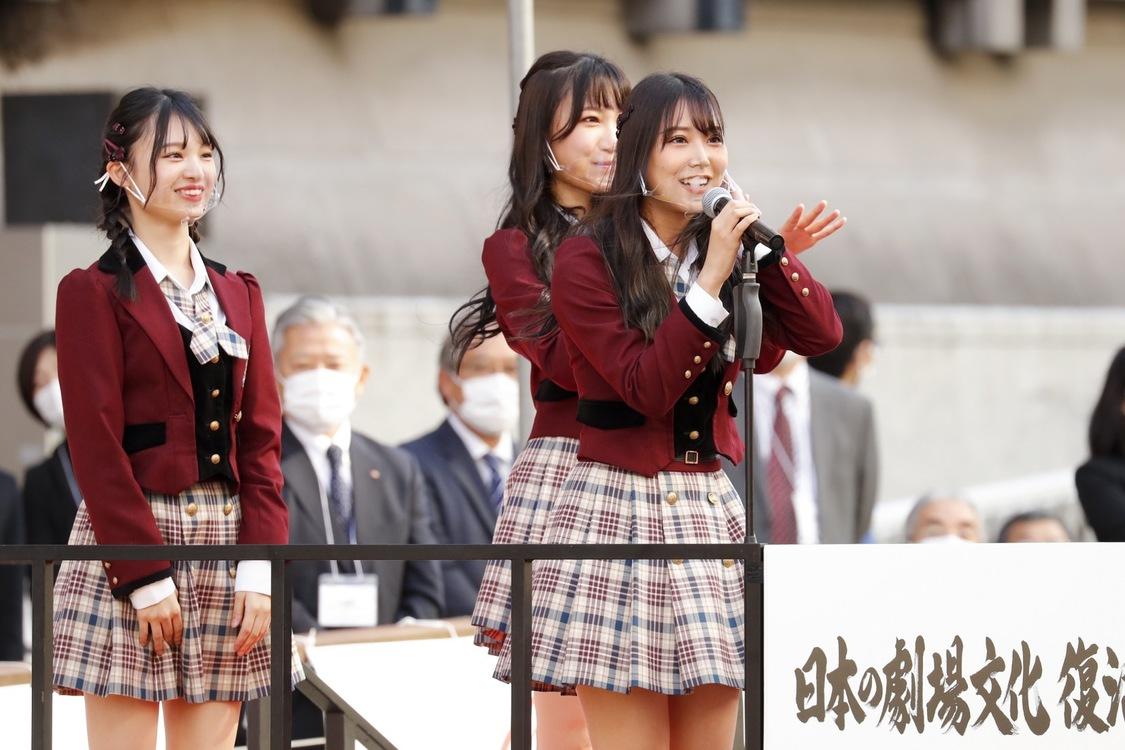 NMB48、日本の劇場文化 復活祈願祭 船上式典に登場「大阪をはじめ日本全国に元気を発信できるようこれからも頑張っていきます」