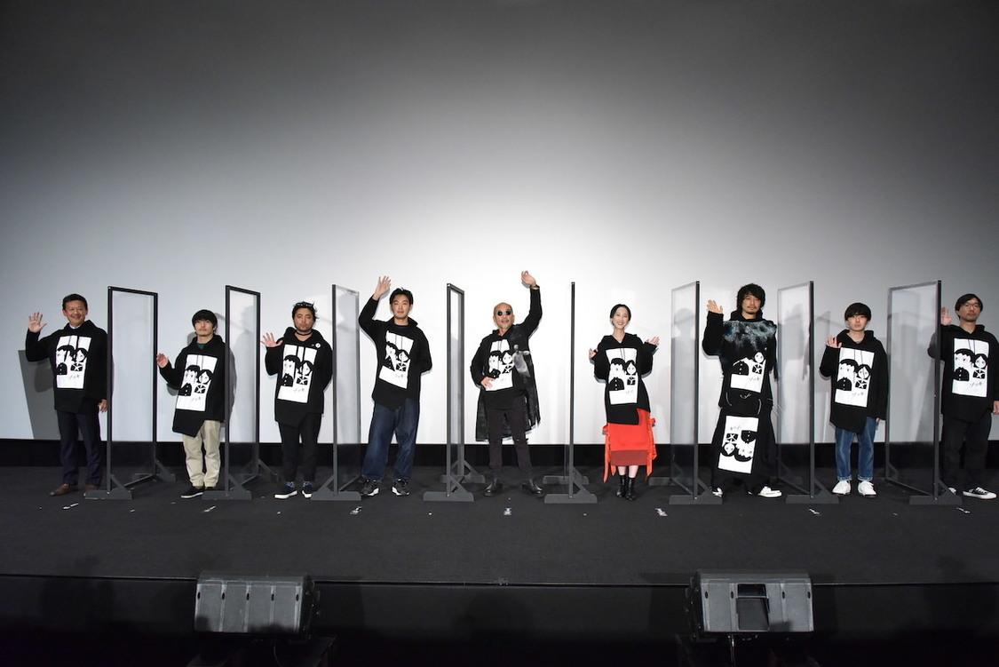 松井玲奈[イベントレポート]「スキンヘッドで白塗りなのは初体験」自身の幽霊役を語る|映画『ゾッキ』舞台挨拶より