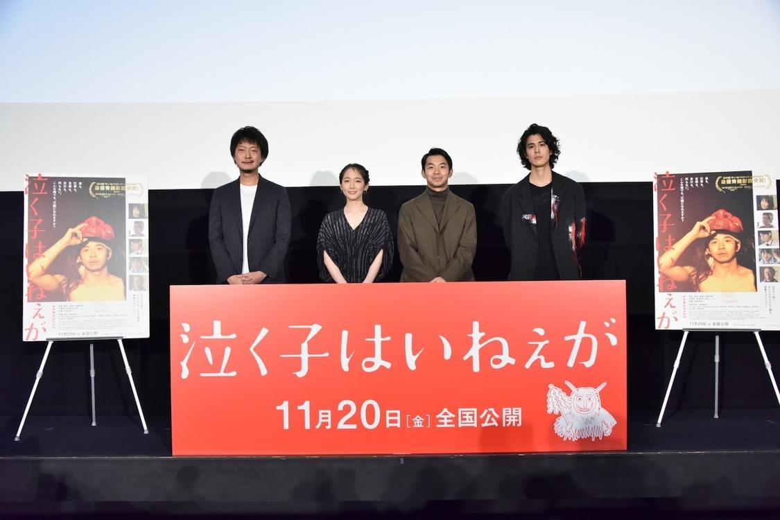 吉岡里帆[イベントレポート]初の母親役への想い「母になるってこんなに苦しく大変なことなんだと役を通して体現できたと思う」