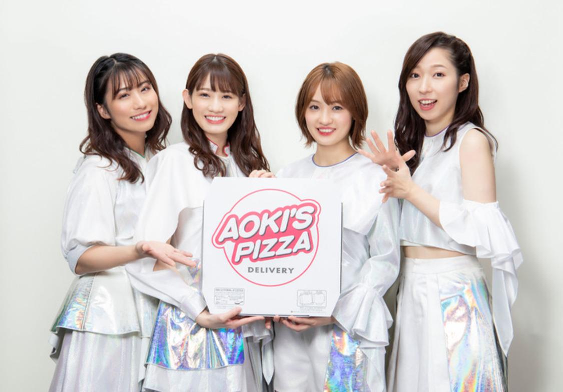 TEAM SHACHI、アオキーズ・ピザの新CMに登場!冬の新作ピザをアナウンス