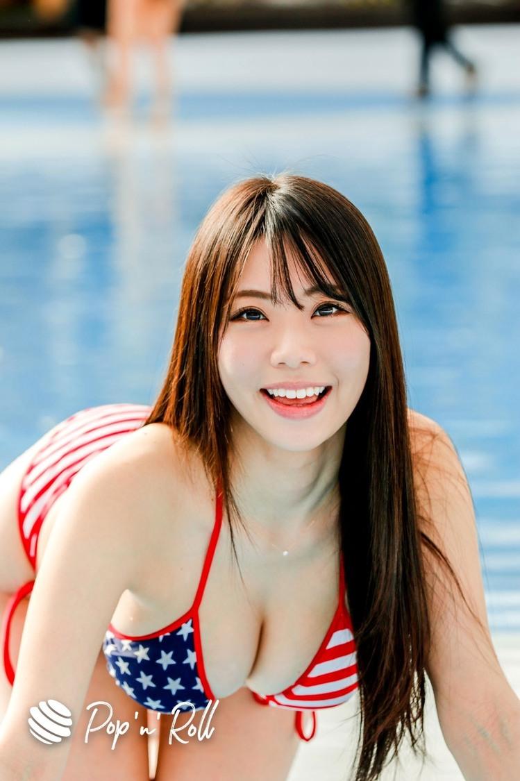 鈴木ふみ奈[サマラン祭2020 DAY2 グラビアフォトレポート]熱狂の水着撮影会!