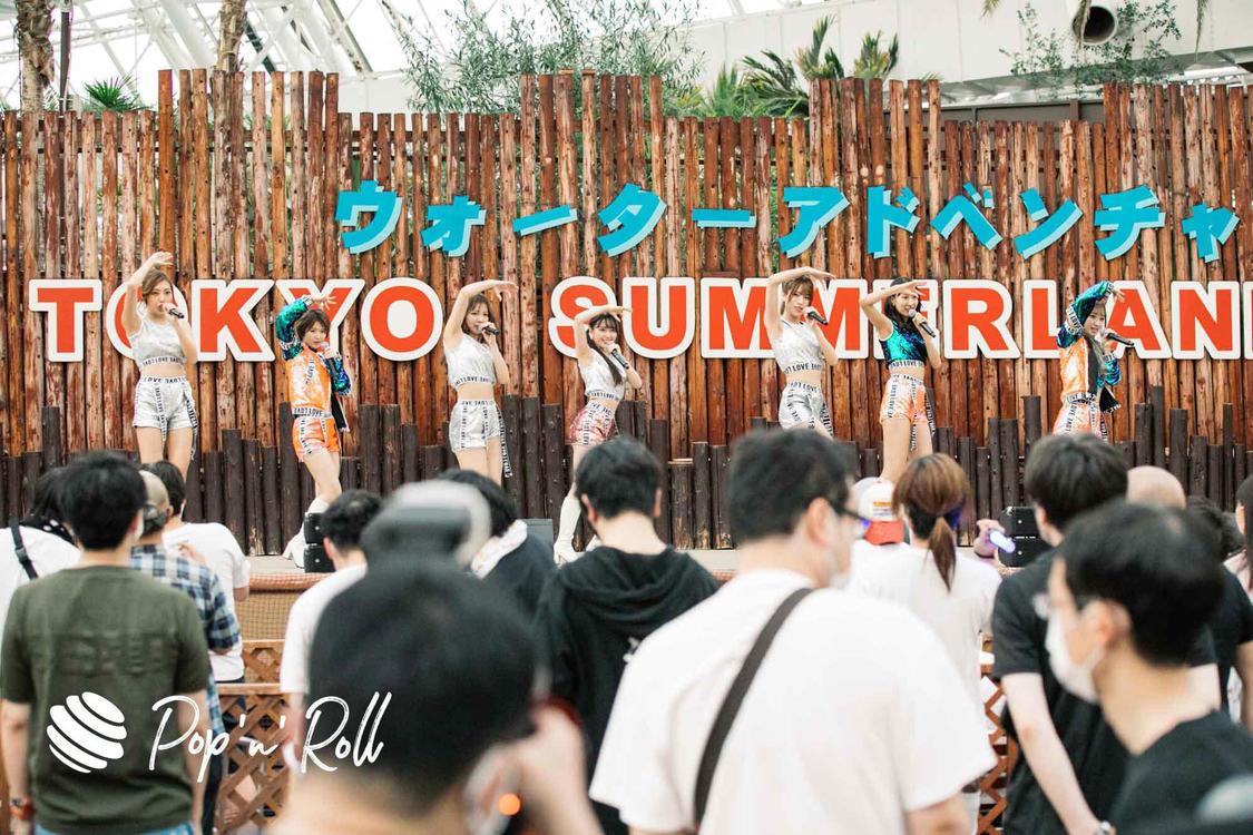 恵比寿マスカッツ<サマラン祭2020 DAY2 ライブフォトレポート>圧倒的熱量が広がったプールサイドステージ