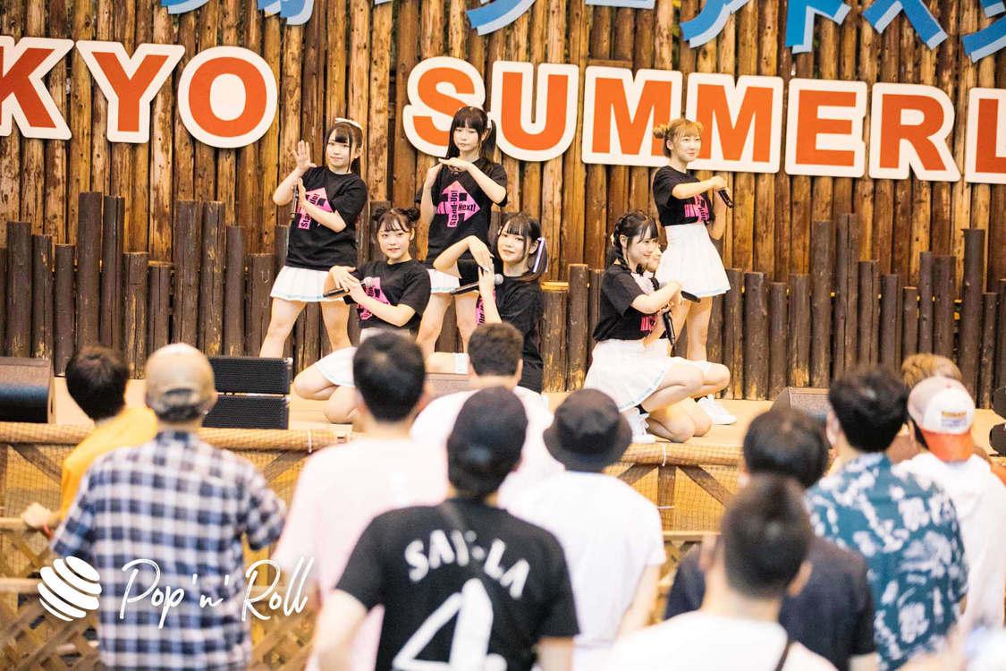 Stand-Up! Next!<サマラン祭2020 DAY2 ライブフォトレポート>圧倒的熱量が広がったプールサイドステージ