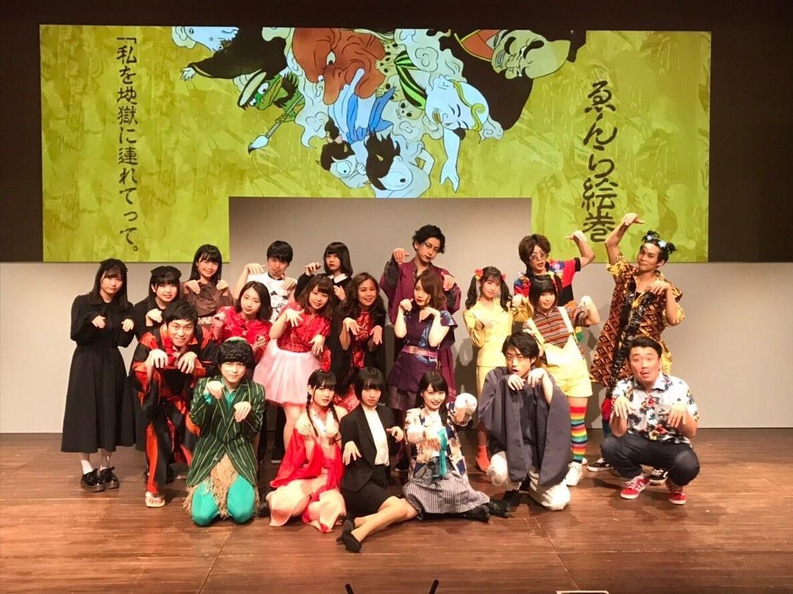 【イベントレポート】ゑんら初主演舞台、全力少女R、幻.no、ゆるっと革命団らが盛り上げた千秋楽公演