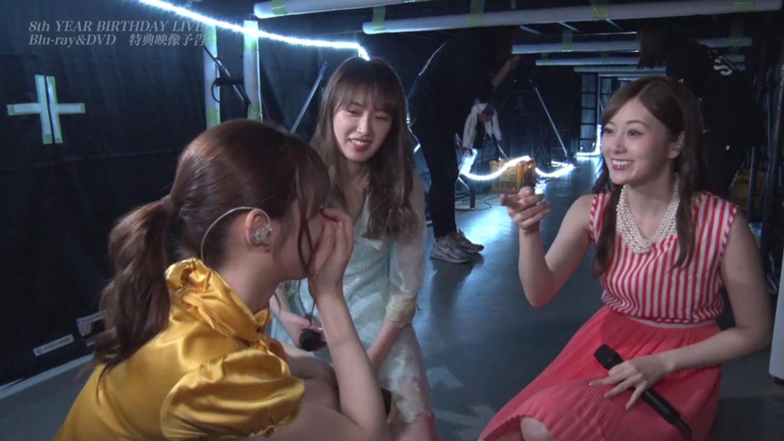 乃木坂46、<8th YEAR BIRTHDAY LIVE>の舞台裏を公開! BD&DVD特典映像予告編解禁