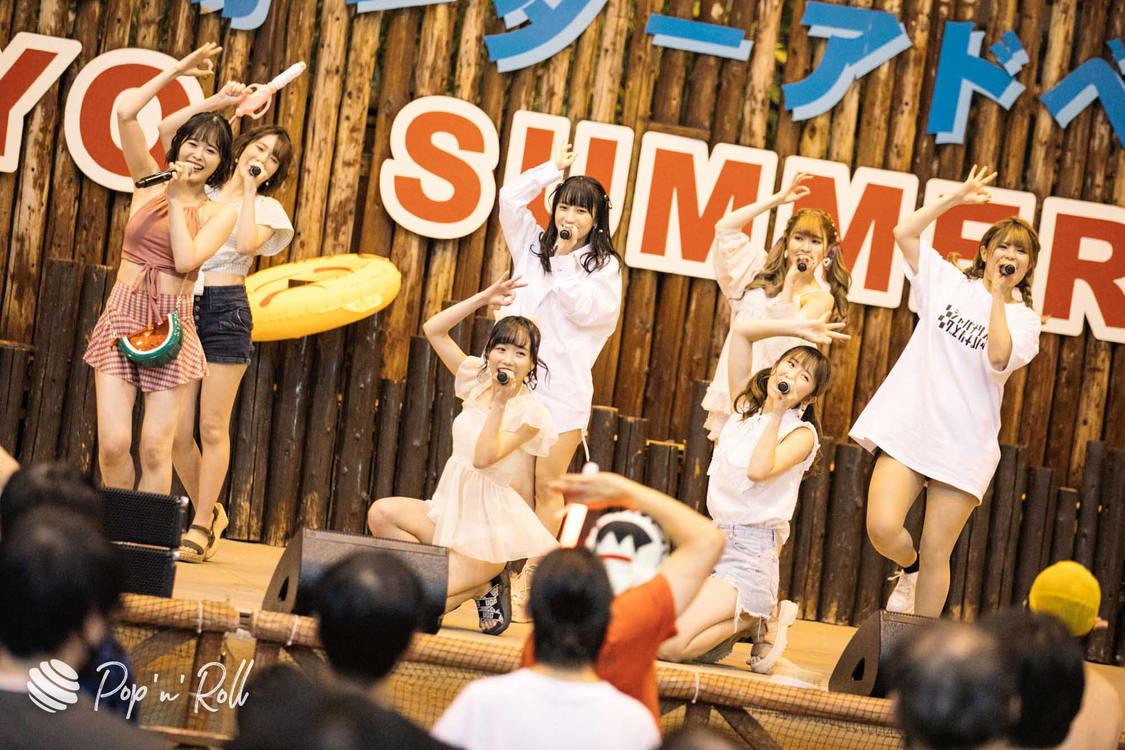 JAPANARIZM<サマラン祭2020 DAY1 ライブフォトレポート>真夏の熱気がよみがえったプールサイドステージ