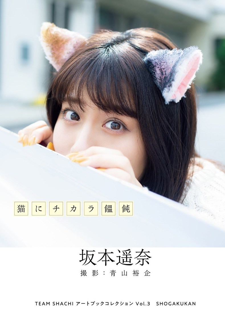 TEAM SHACHI 坂本遥奈、猫、浴衣、チャイナ服、戦隊ヒロインなどコスプレ10変化で魅せる! 写真集『猫にチカラ饂飩』発売