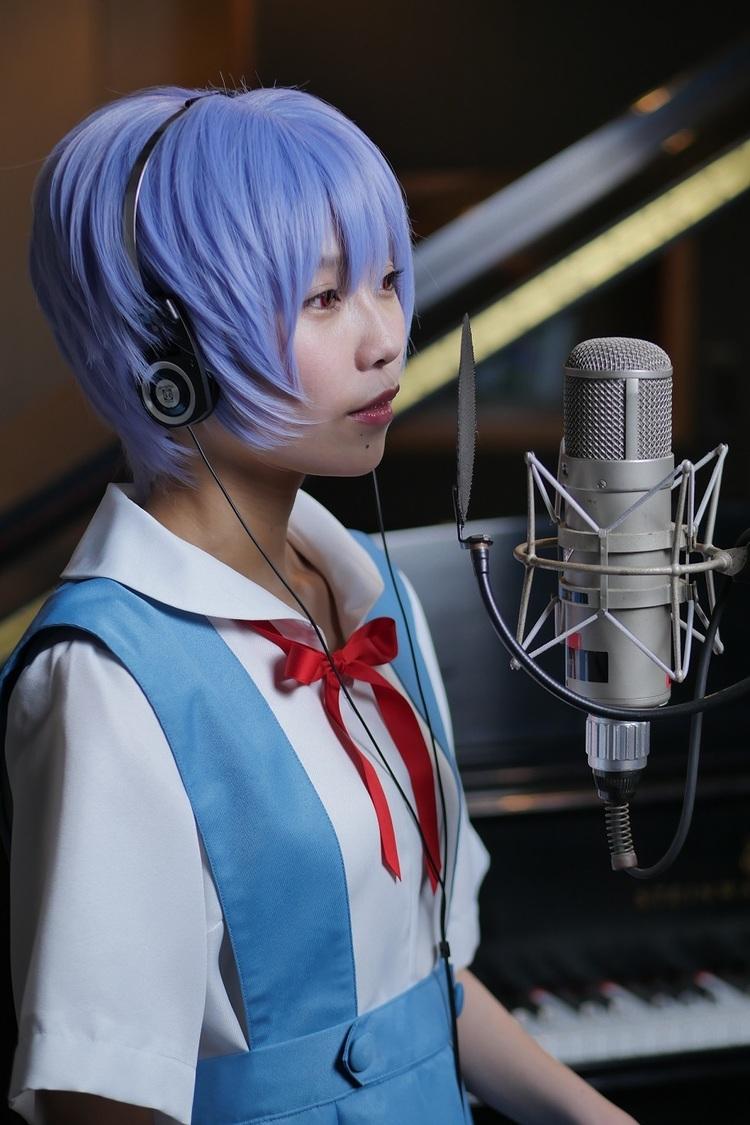 Singing Cosplayer Hikari、綾波レイコスプレで歌うカバー動画「集結の園へ」公開!