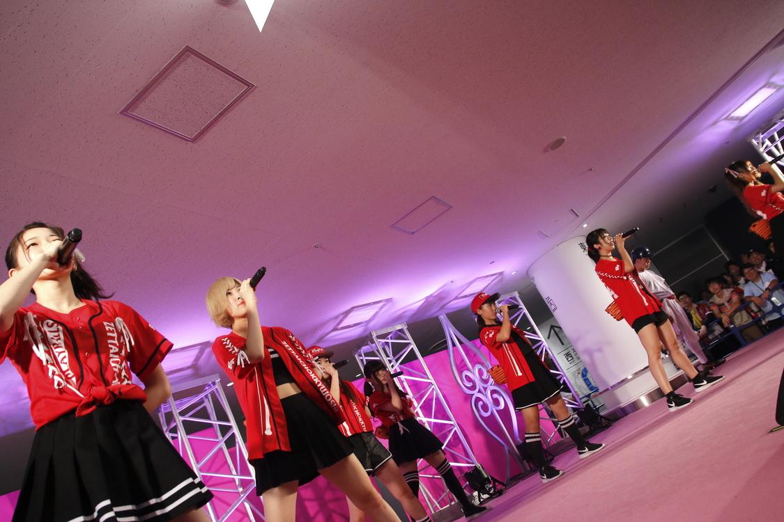 <@JAM EXPO 2018>8月26日「絶対直球女子!プレイボールズ」ピーチステージ