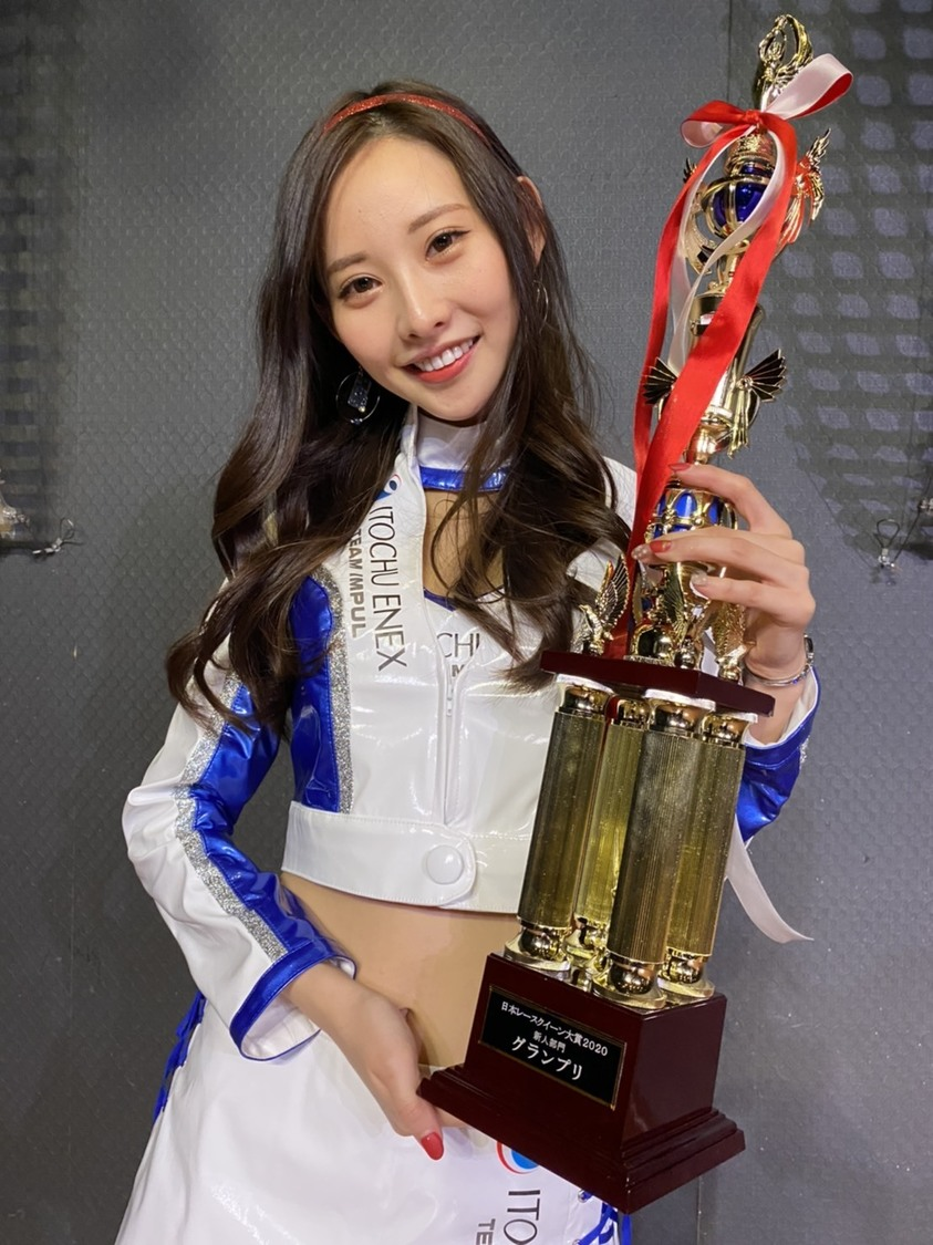 predia あのん、<日本レースクイーン大賞>にて3冠を獲得!「長いようで非常に短い2ヵ月間でした」