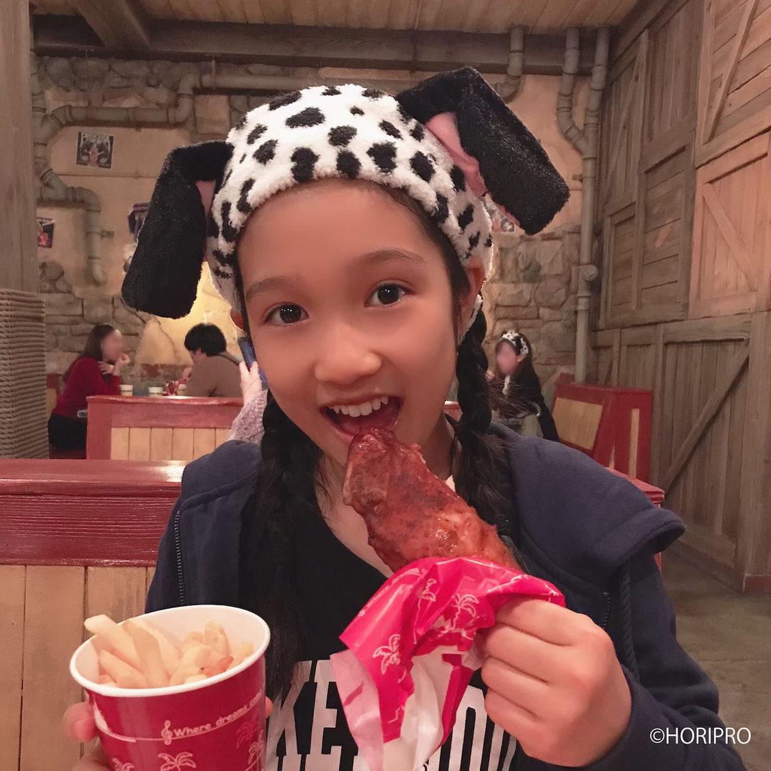 <ホリプロタレントスカウトキャラバン>グランプリ・山崎玲奈(13歳)、Instagram開設!