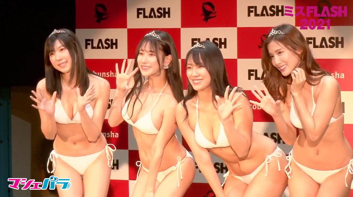 左から、高槻実穂、名取くるみ、霧島聖子、益田アンナ