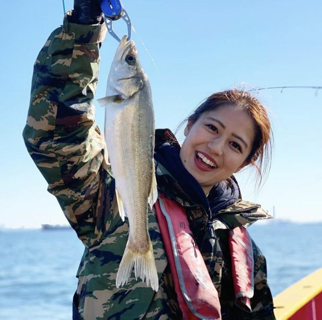 池山智瑛、第12代アングラーズアイドルに選出!釣り業界の新たなイメージガールに