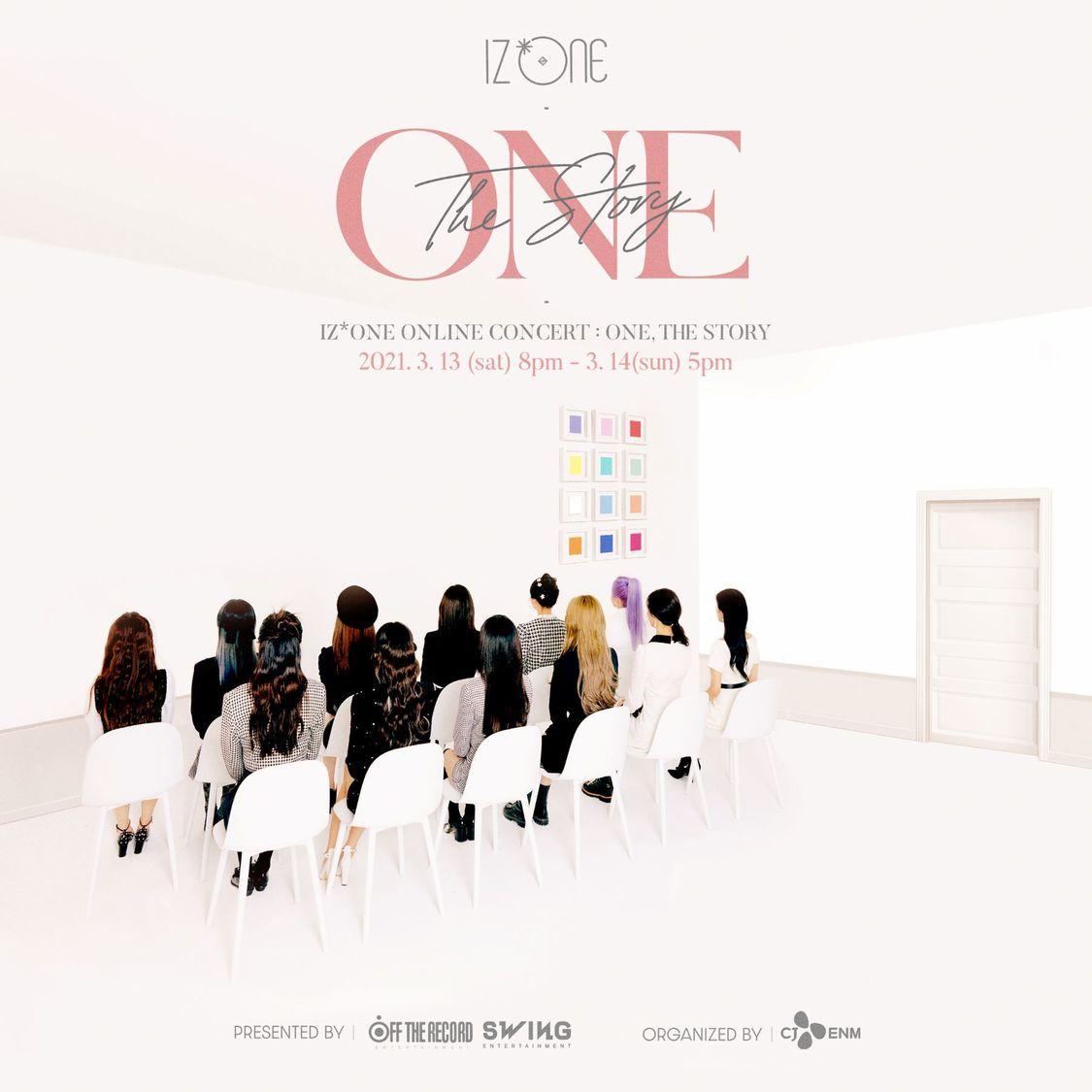 IZ*ONE、2Daysオンラインコンサート<ONE, THE STORY>開催決定!