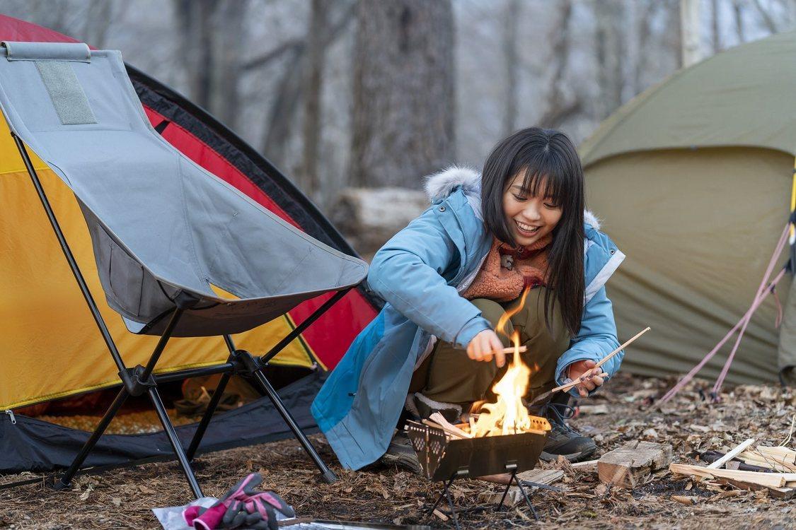 大原優乃、ドラマで学んだキャンプテクにおぎやはぎ・小木がジェラシー!? 『おぎやはぎのハピキャン』出演