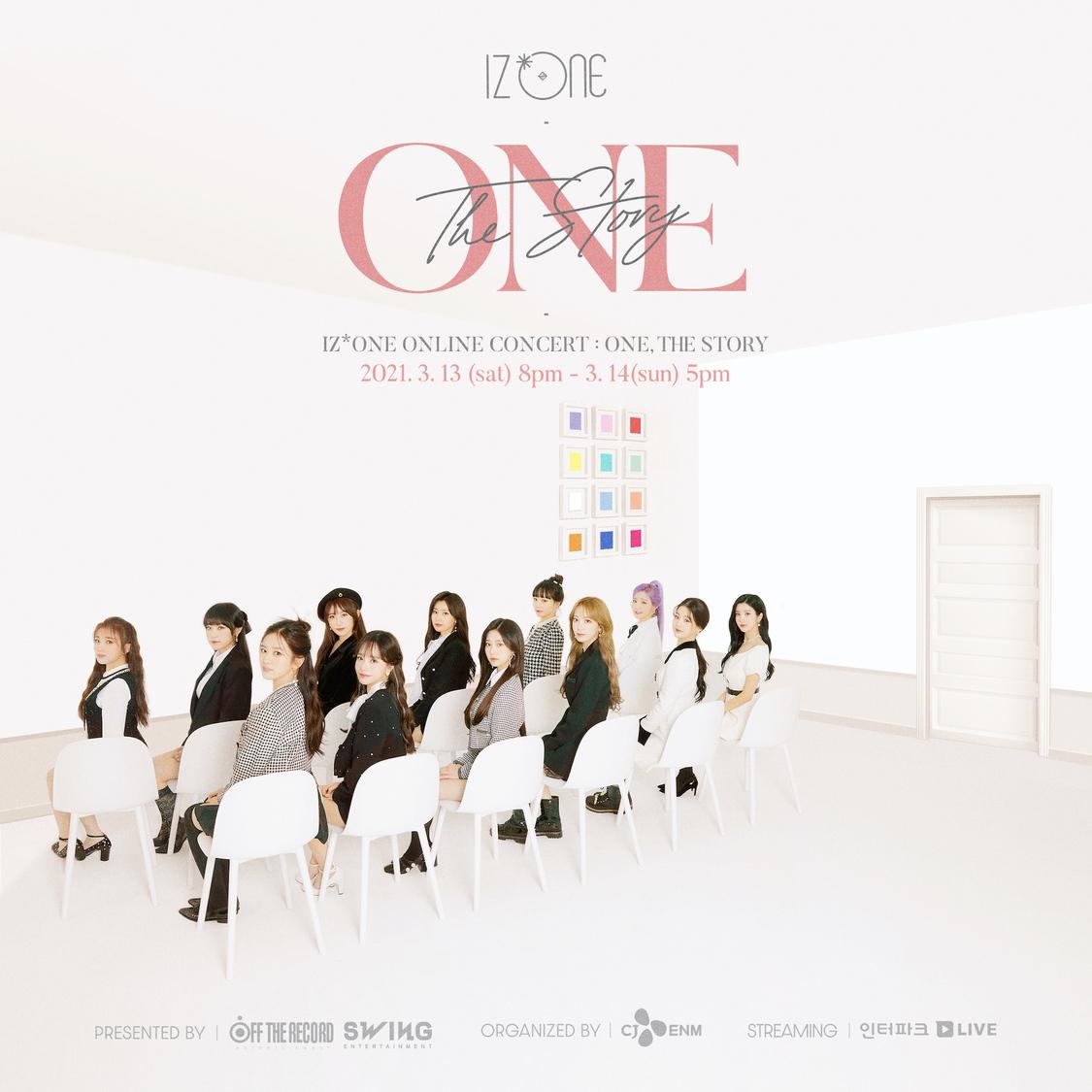 IZ*ONE、オンラインコンサート<ONE, THE STORY>メインポスター公開!