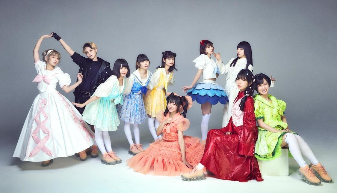 でんぱ組.inc、総勢10人組のグループに!愛川こずえ、天沢璃人、小鳩りあ、空野青空、高咲陽菜が加入