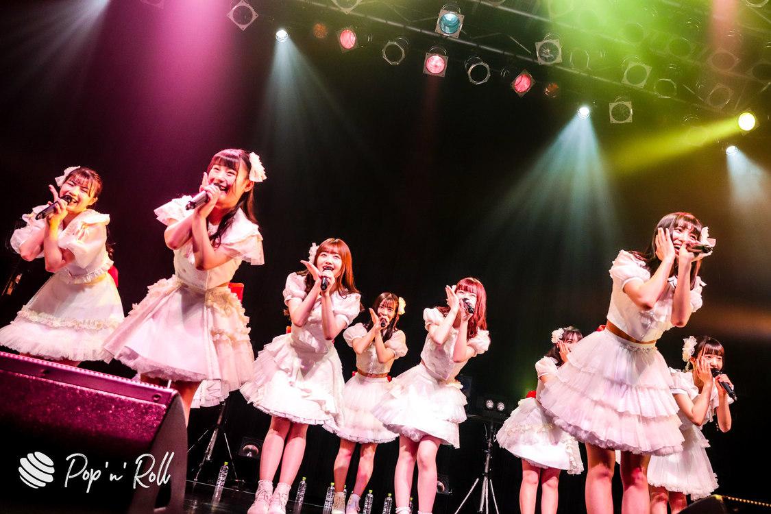 Peel the Apple[ライブレポート]新メンバー小田垣有咲を加えた9人新体制をお披露目!「ぴるあぽのメンバーになったんだなと実感できました」