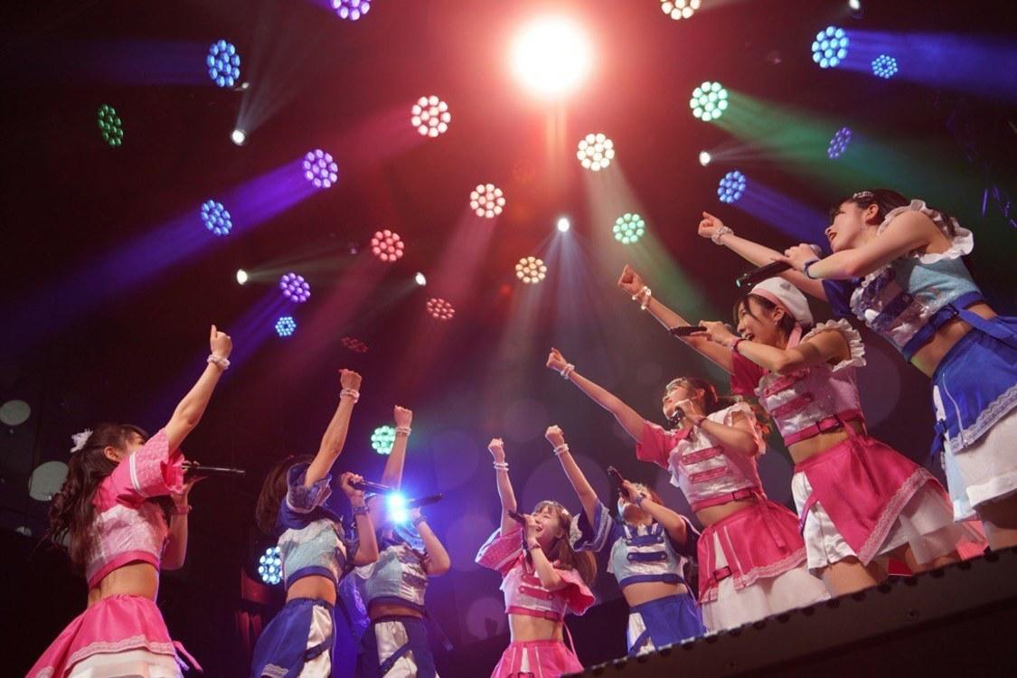 アプガ(2)[ライブレポート]多幸感溢れるシーンをたっぷり描いたVeats Shibuya公演「みなさんの笑顔が見れたこと、そしてライブが開催できたことがホントに嬉しい」