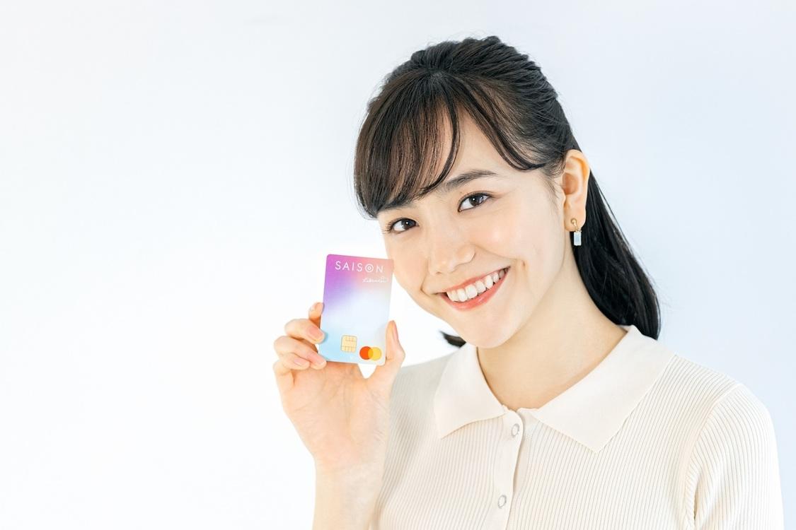 松井愛莉、クレジットカード『Likeme by saison card』デビューキャンペーンモデルに決定!