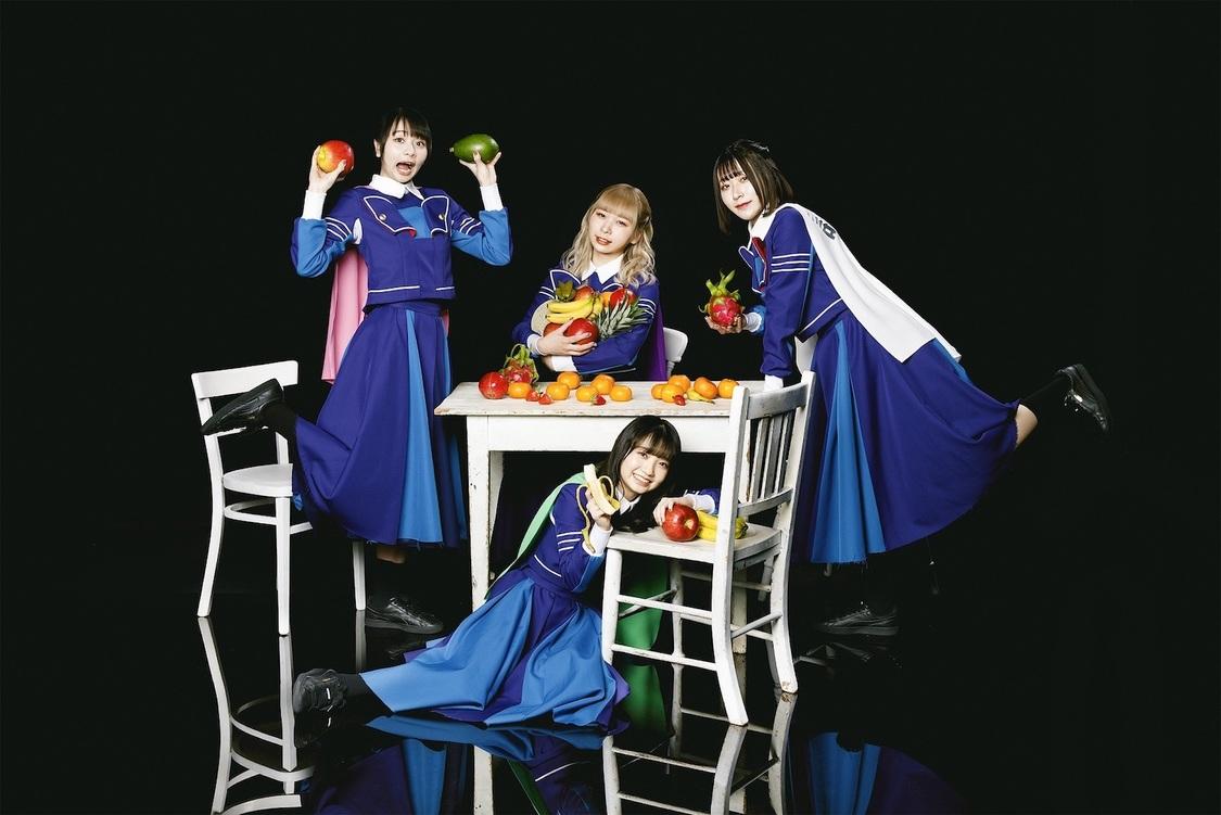 PARADISES、1st EP表題曲「PARADISES RETURN」MV公開+4都市を回る初ツアー開催決定!