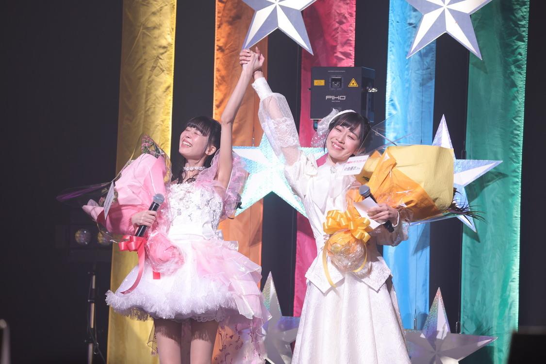 ピュアリーモンスター[ライブレポート]感動の涙に包まれた<富沢恵莉、中島優衣卒業公演>「約4年間、ありがとうございました」
