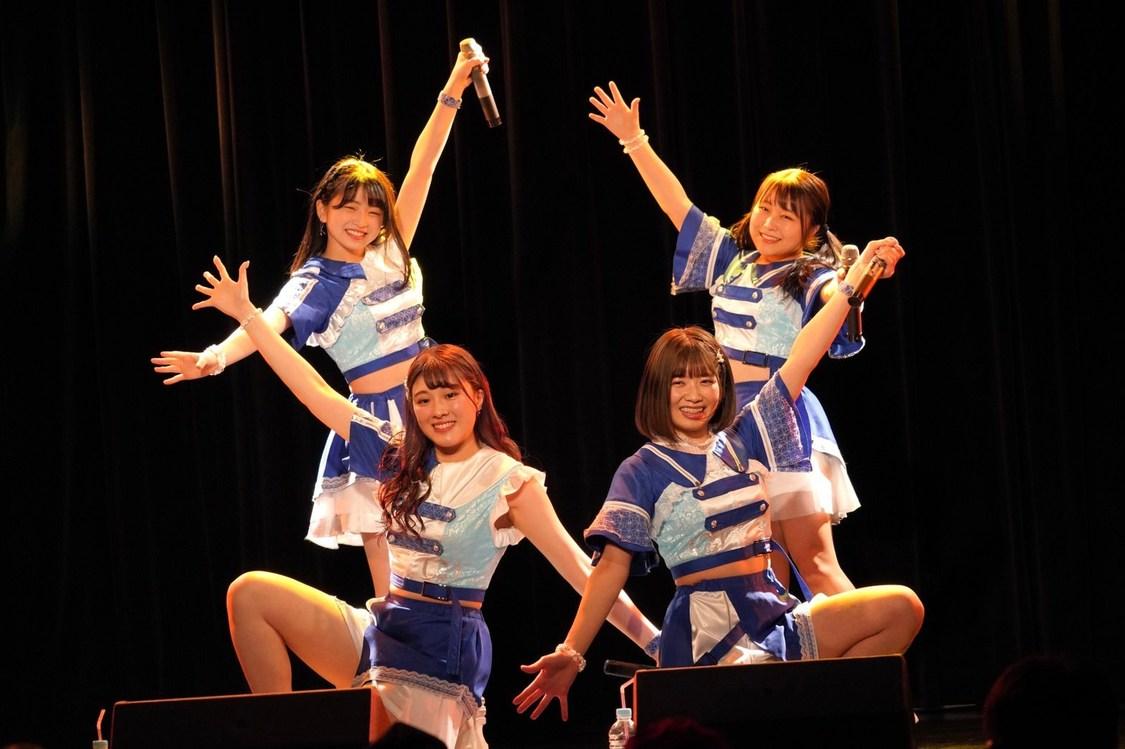 アプガ(2)[ライブレポート]躍動感溢れるダンスと表情豊かな歌で魅せたあお組4公演「今日までに学んだこと鍛えて来たことは、アプガ(2)でも発揮できるように頑張っていきます」