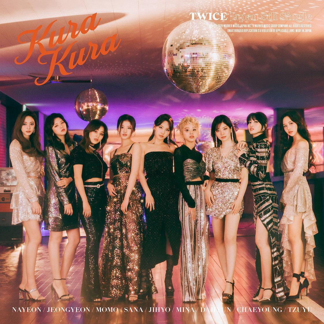 JAPAN 8thシングル「Kura Kura」通常盤ジャケット