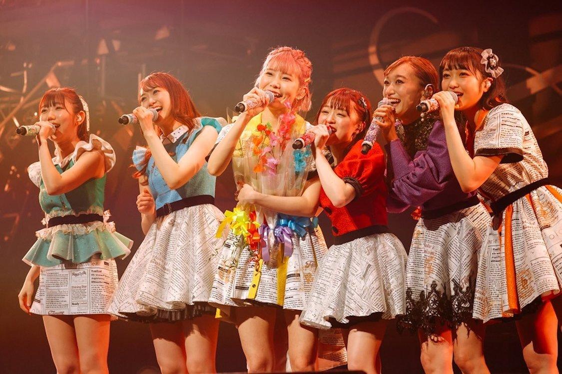 i☆Ris[ライブレポート]6人で歩んだストーリーを詰め込んだ澁谷梓希ラストステージ「i☆Risの一員として活動できて幸せでした」
