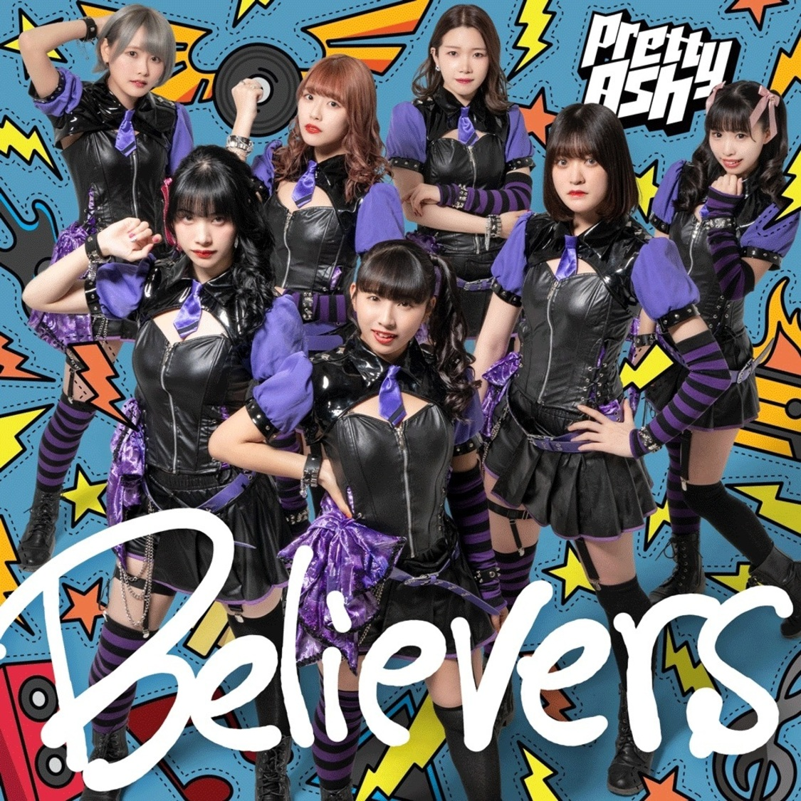 2ndシングル「Believers」DVD付盤