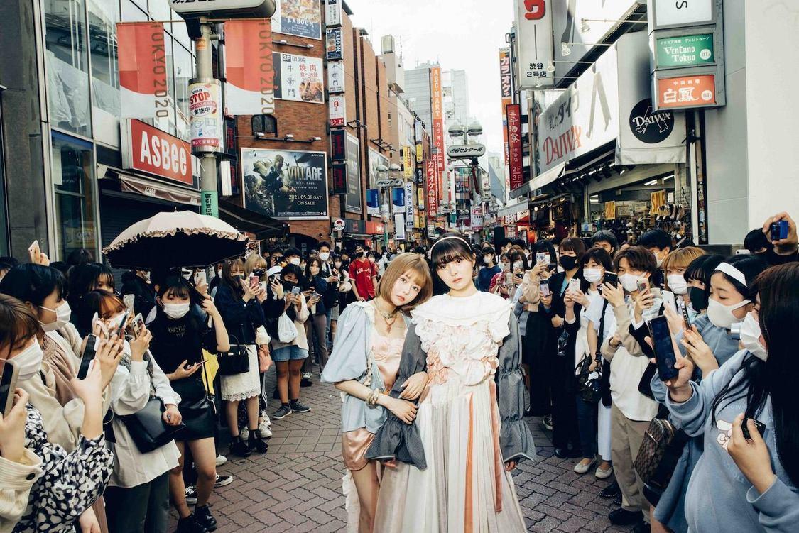 femme fatale、渋谷センター街でゲリライベント開催+Zepp Hanedaワンマンのオンライン配信決定!