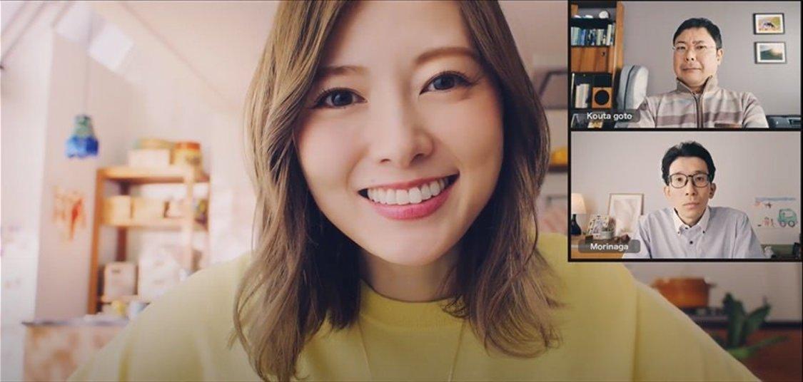 白石麻衣、会社員でSaaS認証基盤/IDaaS「HENNGE One」を紹介! スペシャル動画公開