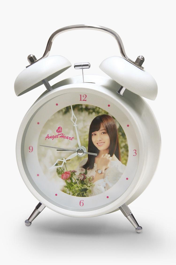 橋本環奈、つらい朝を応援! ブランド『Angel Heart』から4種のボイス入り目覚まし時計を受注発売スタート