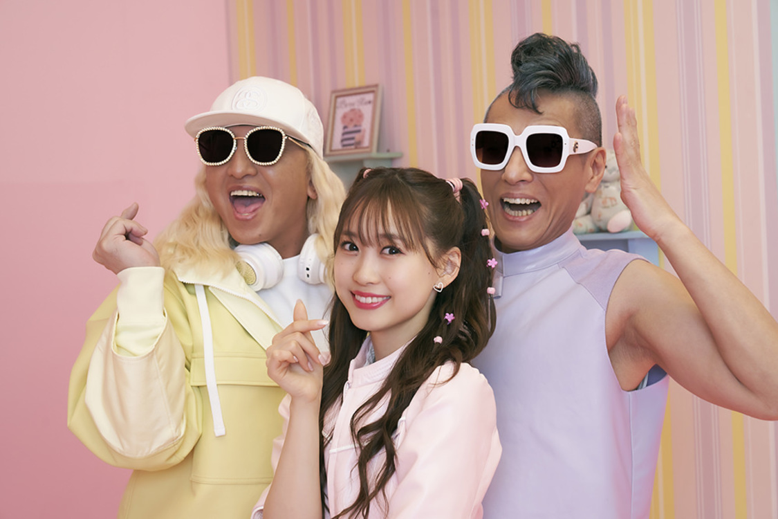 芹澤優 with DJ KOO & MOTSU「YOU YOU YOU」アーティスト写真