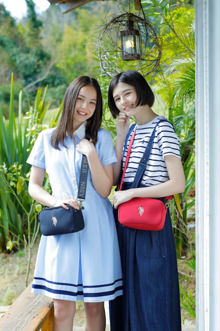 稲垣姫菜、アリアナさくら、ファッションブランド『U.S.POLO ASSN.』新ビジュアルに登場! 「ぜひたくさんの方に身に付けていただきたいです!!」