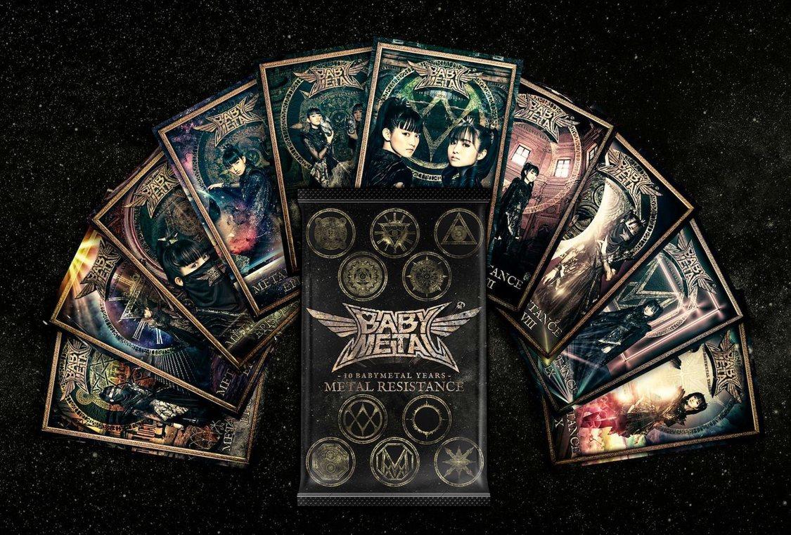 BABYMETAL、結成10周年を記念した初のNFTトレーディングカード発売決定!