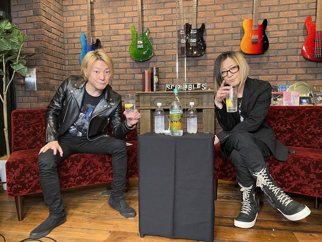 松隈ケンタ、HISASHI(GLAY)とマニアックなギター談義! YouTube音楽番組『iichiko ROCK!』配信