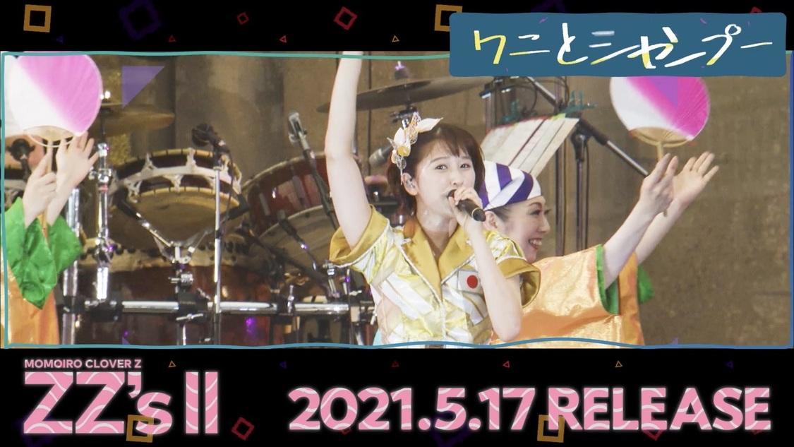 ももクロ、配信AL『ZZ's Ⅱ』収録曲を毎日解禁!「ワニとシャンプー -ZZ ver.-」収録決定