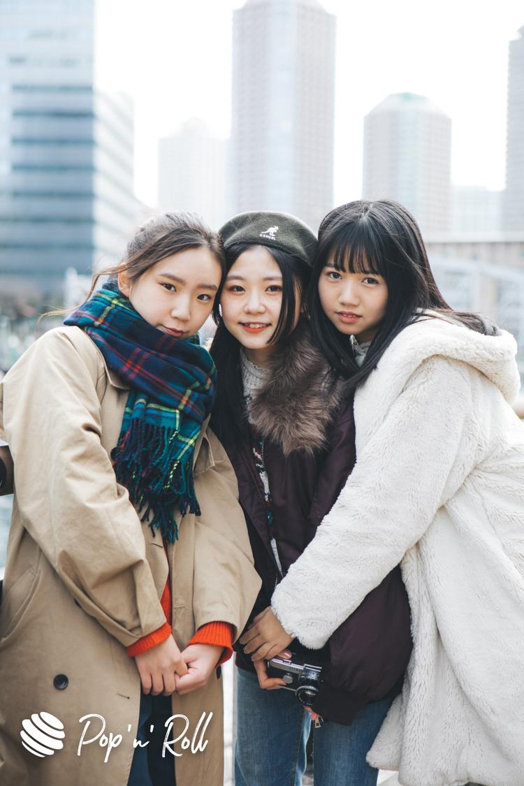 つりビット聞間&竹内のファッション「なつは初めて会った時から1番大人っぽいイメージ」