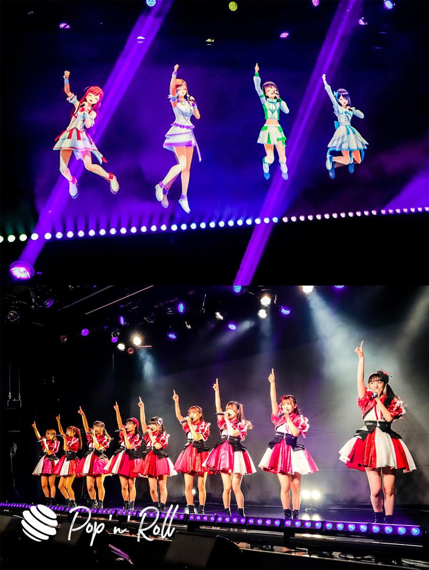 えのぐ/SUPER☆GiRLS[ライブレポート]2グループが次元を超えて押し広げたアイドルの無限の可能性「改めてアイドルってすごく素敵で、カッコいい仕事だなって思いました!」