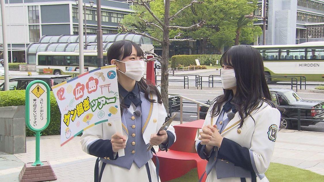 STU48 矢野帆夏&信濃宙花、ダンスで座敷わらしを呼び寄せる!? 『せとチャレ!STU48』出演
