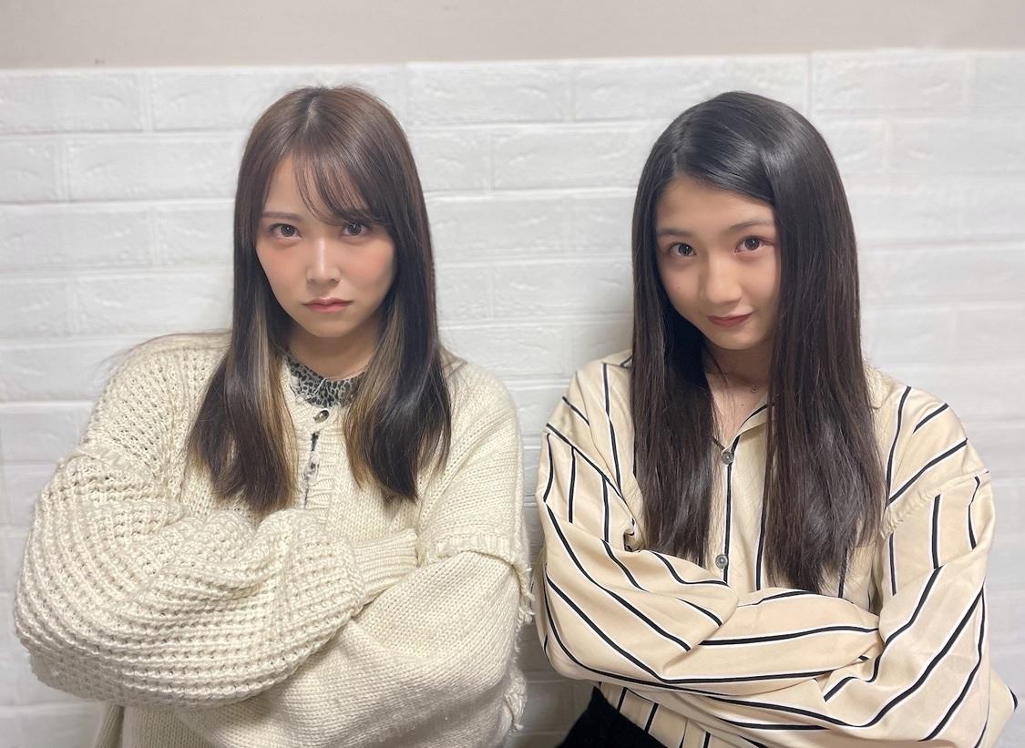 白間美瑠、塩月希依音(©NMB48)