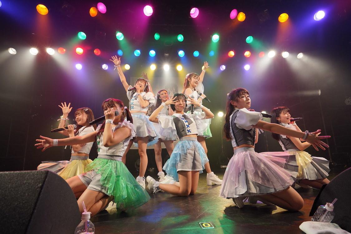 アプガ(2)[ライブレポート]可愛さ全開のステージで観客を虜に「みなさんが心の底から笑顔になれるライブをお届けしたいです!」