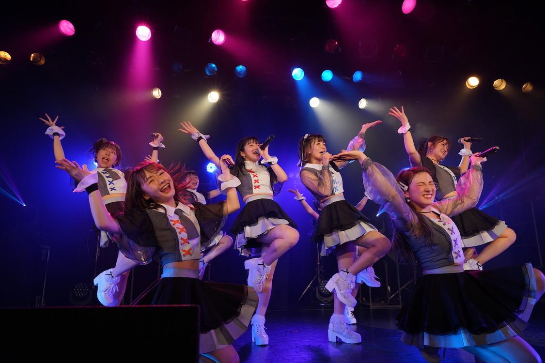 アプガ(2)[ライブレポート]夢のZepp Tokyoに向けた熱き想い「私たちは無限にどこまでも高いところに行けると思うんですよ!」