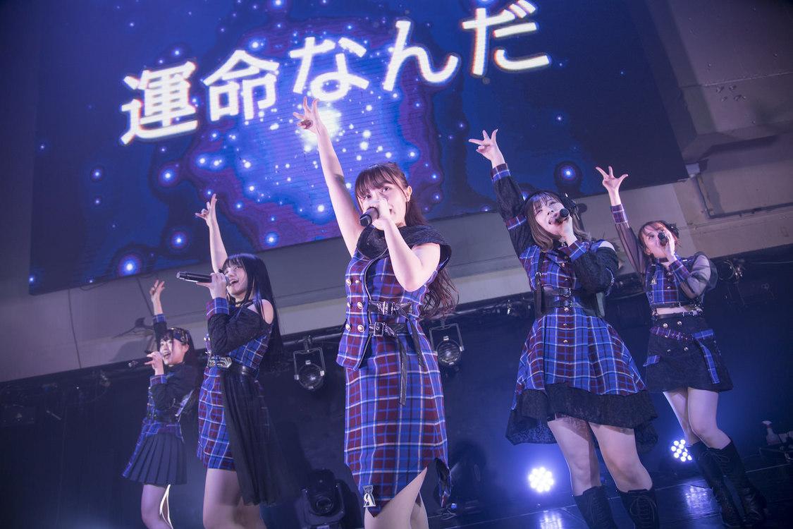 元AKB48 Team8 佐藤栞プロデューサー兼メンバーの新グループ・刹那的アナスタシア、圧巻のパフォーマンスでデビュー!