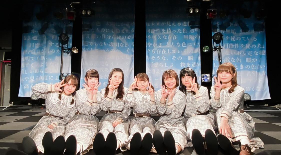透色ドロップ[ライブレポート]7人が一体となり魅せたバースデーライブツアー大阪公演「7人の透色をいっぱい好きになってもらえるように頑張ります」
