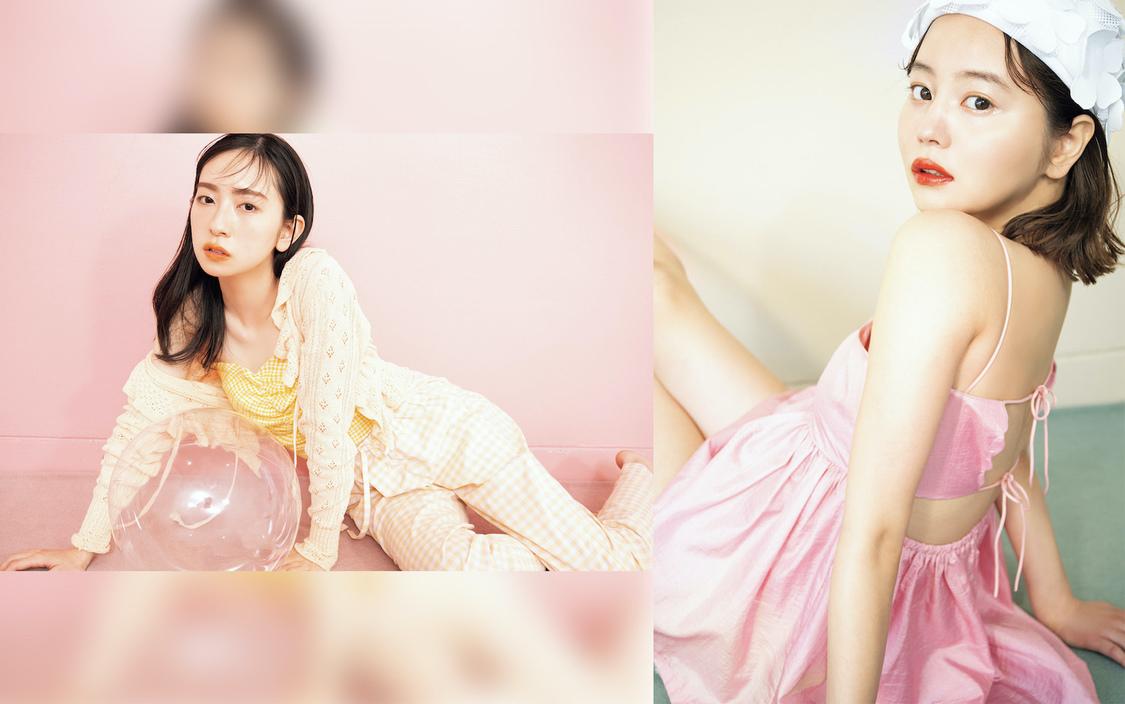金村美玖(日向坂46)、NANAMI『bis』7月号