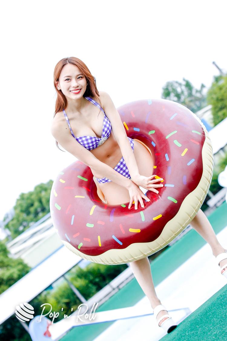 加奈(Chu-Z)<近代麻雀水着祭2021>水着グラビア撮り下ろしフォト(6月6日)