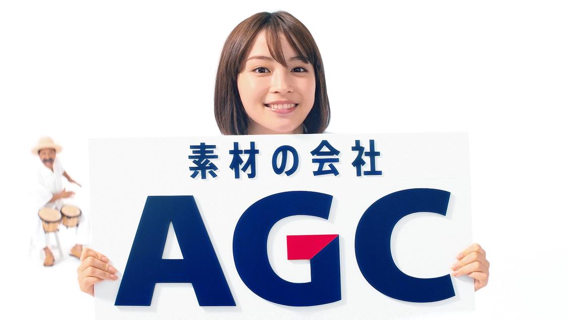 広瀬すず、ひょっこりとキュートに顔を出す! AGC新TV-CM登場
